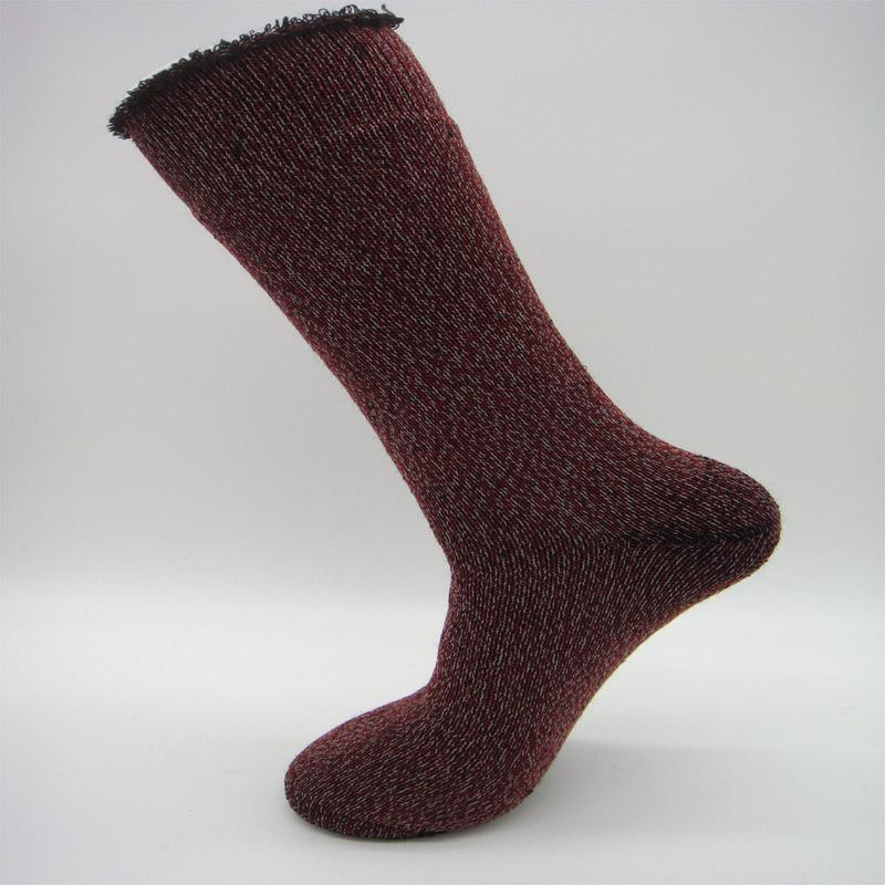 fef8a990c3774 2019 S0009 Pack 2017 Brand New Mens Merino Wool Thick And Warm Socks For  Cold Winter Mens Sheep Wool Long Boot Full Terry Sock From Merrylady, ...