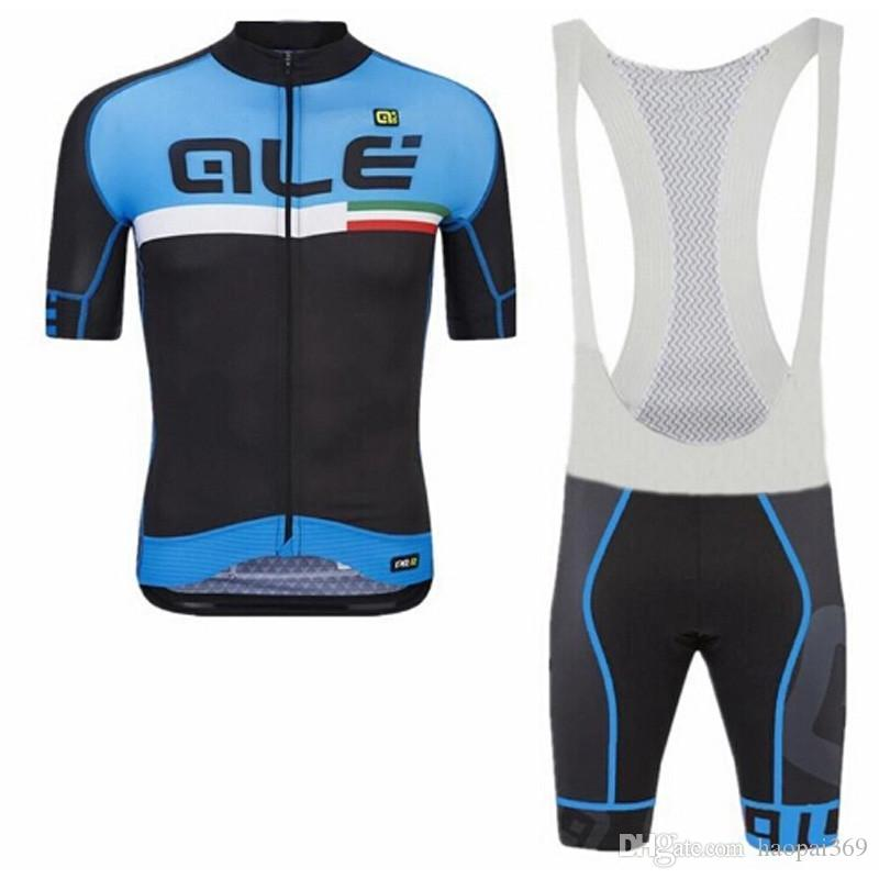 Ale 2018 Pro Men Team Cycling Jersey Sport Suit Bike Maillot Ropa Ciclismo  Bicycle MTB Cycling Bib Shorts Set Clothing F2501 ALE Cycling Jersey Camisa  De ... 375c4782d