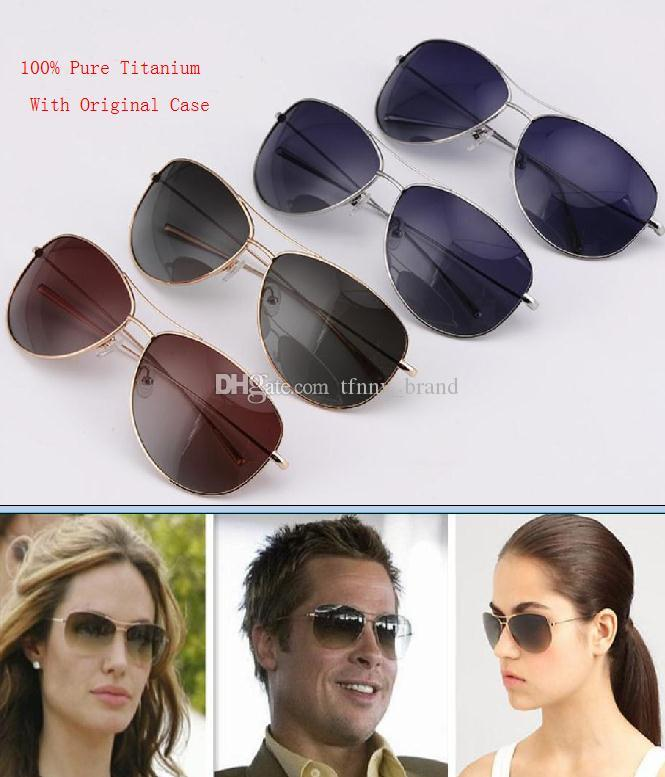 00f60ff29e4 Luxury Brand Designer Oliver Peoples Strummer Top Quality 100% Pure  Titanium Super Light Frame Men Women UV400 Polarized Ov Sunglasses Round  Glasses ...