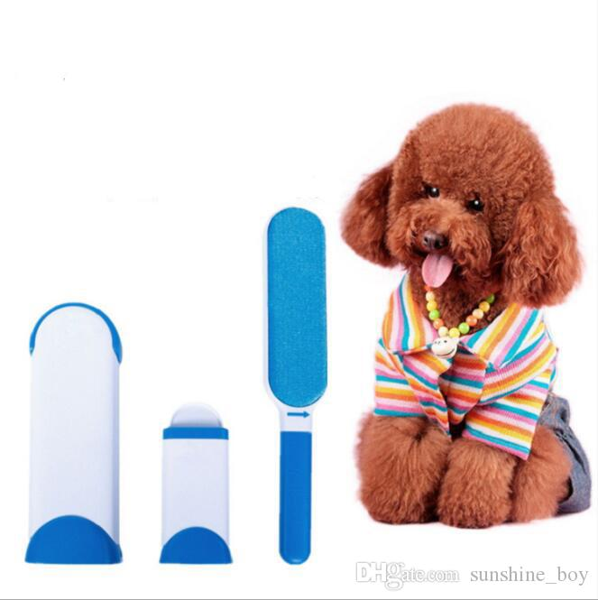 Più nuovo Pet Self Groomer Grooming Tool Hair Removal Brush Pettine cani Cats Hair Shedding Taglio Cat Massage Cleaning Brush