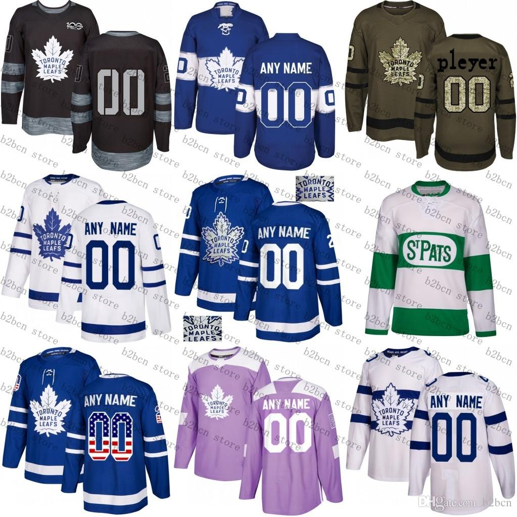 ... hot 2018 2018 custom toronto maple leafs mens womens youth kids white  green camo green royal 221334667