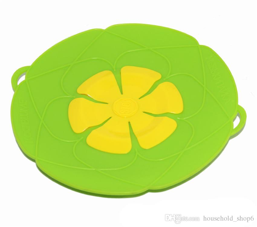 Flower petal shape silicone pot cover food grade silicone spill flower petal shape silicone pot cover food grade silicone spill stopper lid 10 inches silicone boiling spill stopper lids cooking pot lids silicone pot mightylinksfo