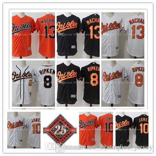 b96784680 Baltimore Orioles Baseball Jerseys Manny Machado Adam Jones Cal ...