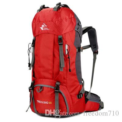 492d58aa9845 Free Knight 60L Waterproof Climbing Hiking Backpack Rain Cover Bag ...