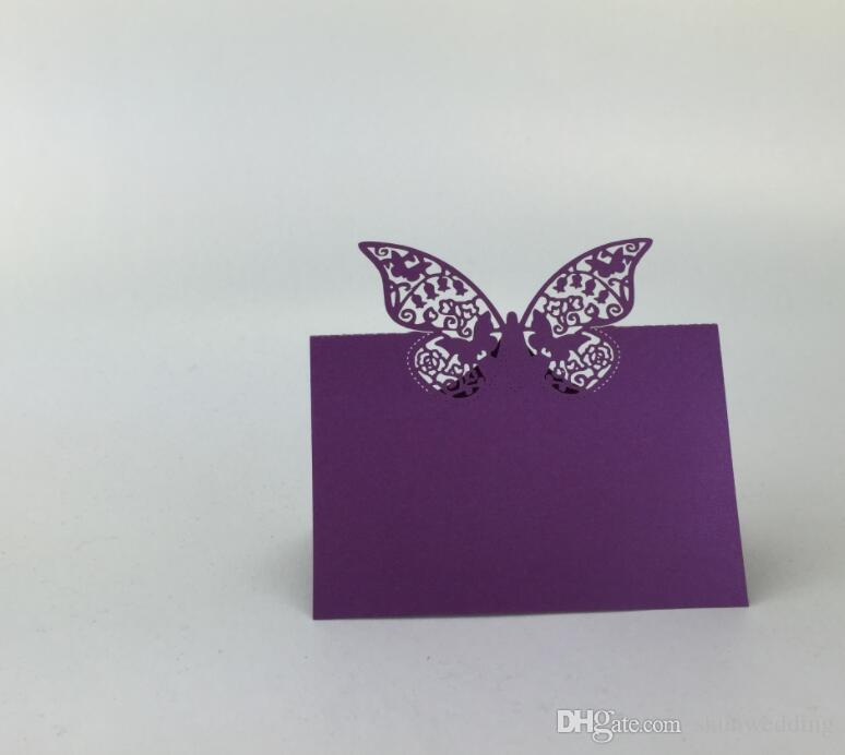 Laser Cut Butterfly Table Name Place Card Setting Wedding Party Supplies