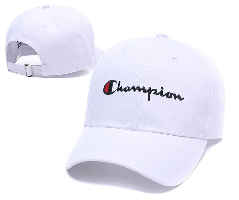 2019 New Champion Embroidered Hats Top Quality Strapback Cap Fashion Sport  Curved Brim Hat Adjustable Baseball Cap For Adult Kids Dad Leisure Hat From  ... 9acc7a0c3dc