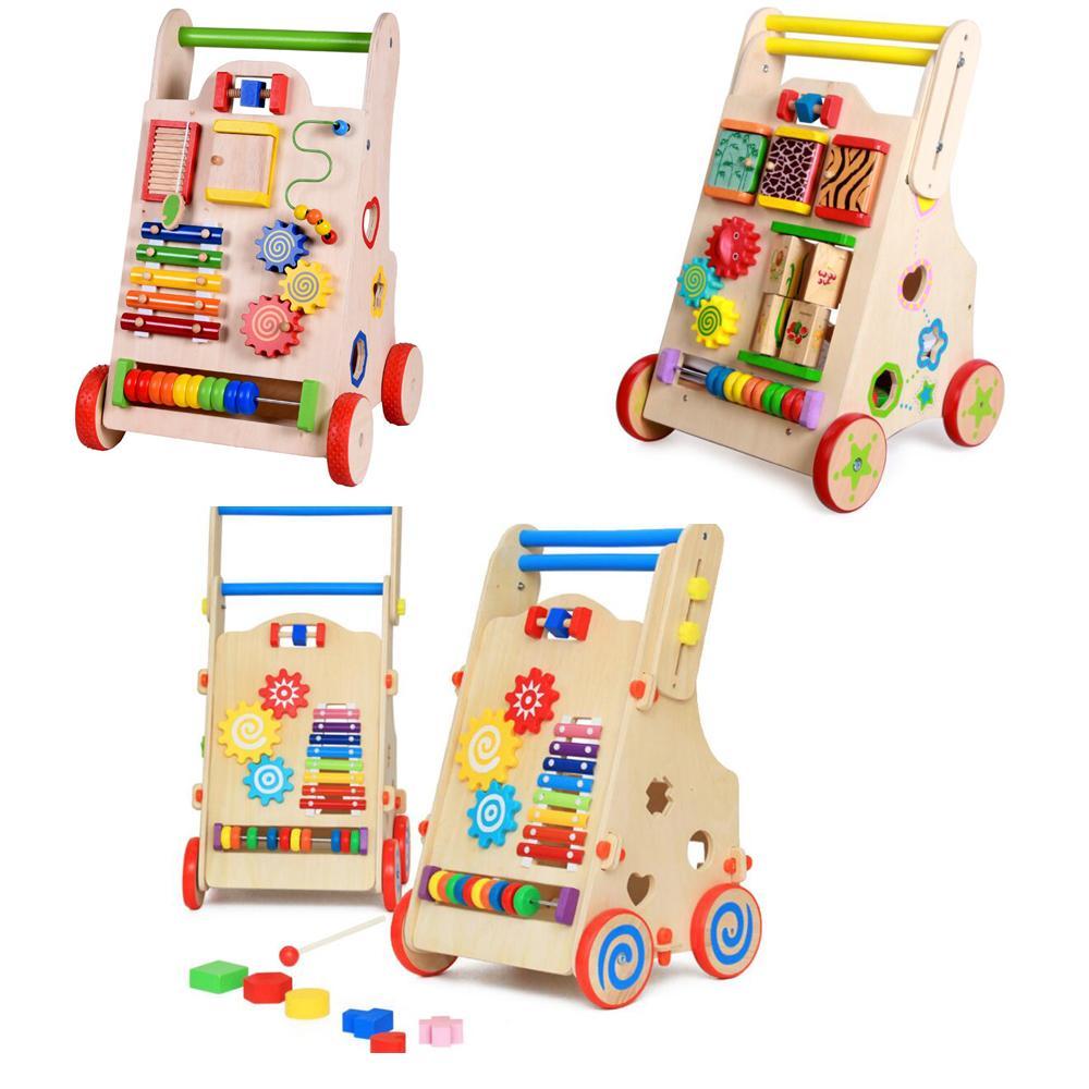 2018 Deluxe Baby Walker Learning Activity Center Walk Trolley, Shape ...