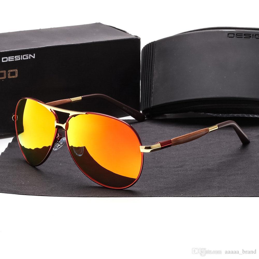 67352f2974 2018 Classic Brand Polarized Sunglasses Men Women Alloy Frame Male Driving  Square Sun Glasses Eyewear Oculos Gafas With Cases And Box Vuarnet  Sunglasses ...