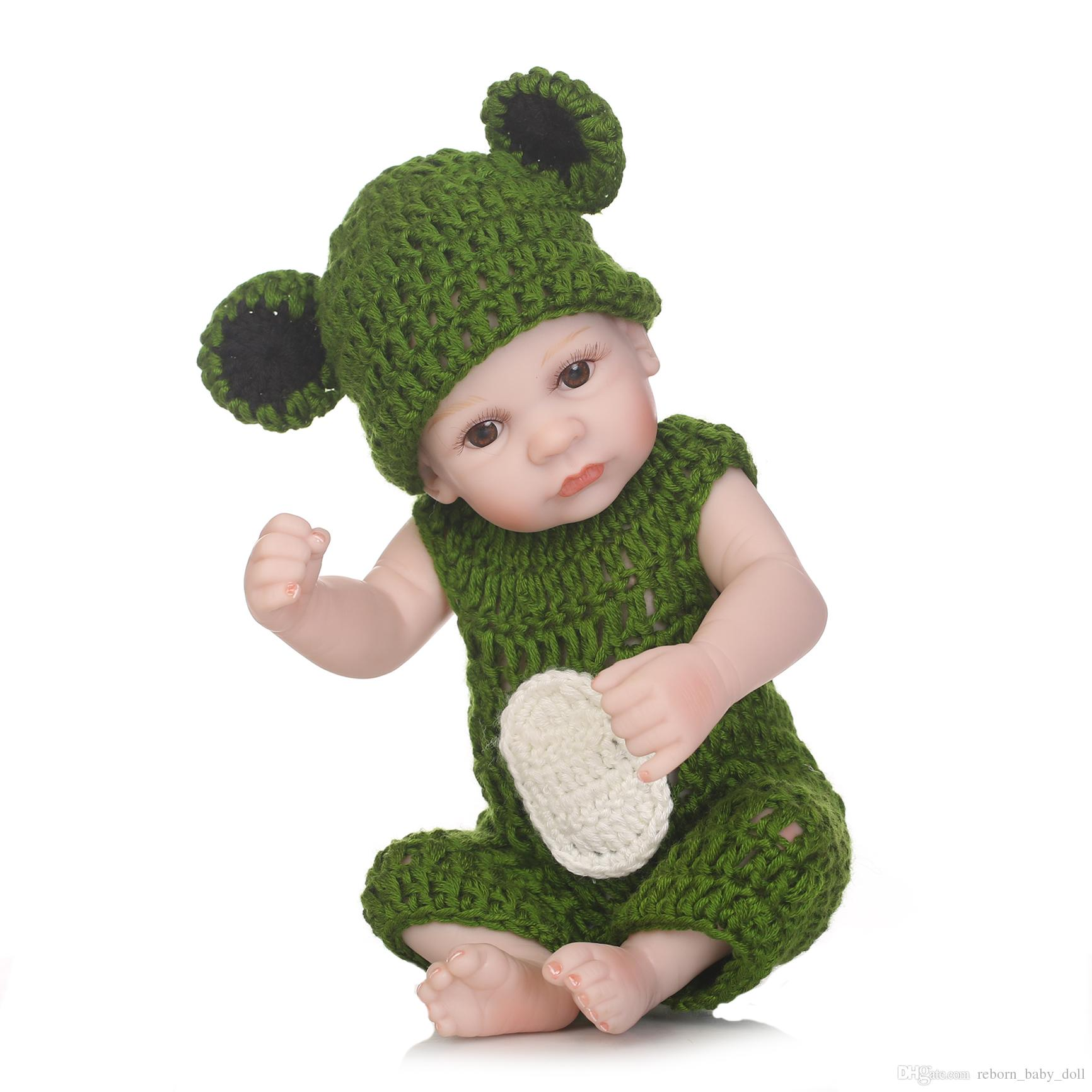 2018NEW wholesale mini doll lifelike reborn baby wholesale soft real touch baby dolls fashion doll