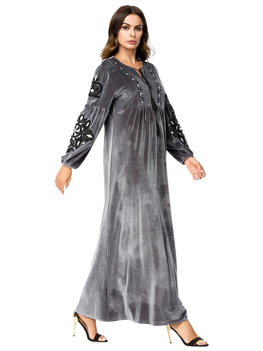 0d491bed184e9 5-7231 Kaftan Moroccan Hijab Dubai Dresses Evening Islamic Clothing Arabic  Abaya Dress Abayah Absya Clothes for Woman Muslim Arabia Dresses