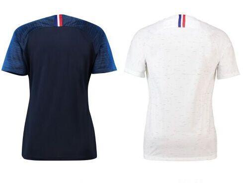 ... Das Mulheres 2 Estrelas Dois Etoiles Senhora Feminina Meninas Equipe De  Futebol França 2018 Camisas De Futebol De Aaron jerseys 82089ec6772ca