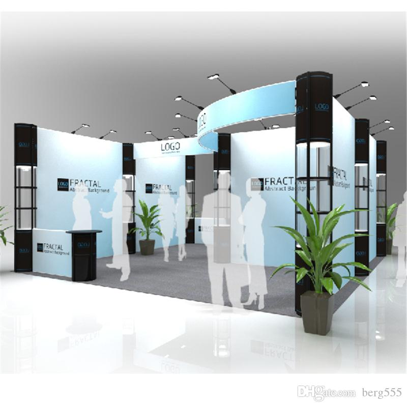 Exhibition Stall Size : Large ft ft modular exhibition booth display system