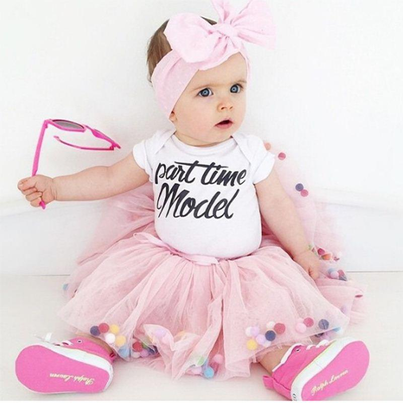 caa0a1b47 Bolas de baile Niños Niñas Tutu Falda Pompon Suave Malla Encaje Faldas de  los niños Estilo Ins Bebé Tutu Pettiskirt Salvaje princesa