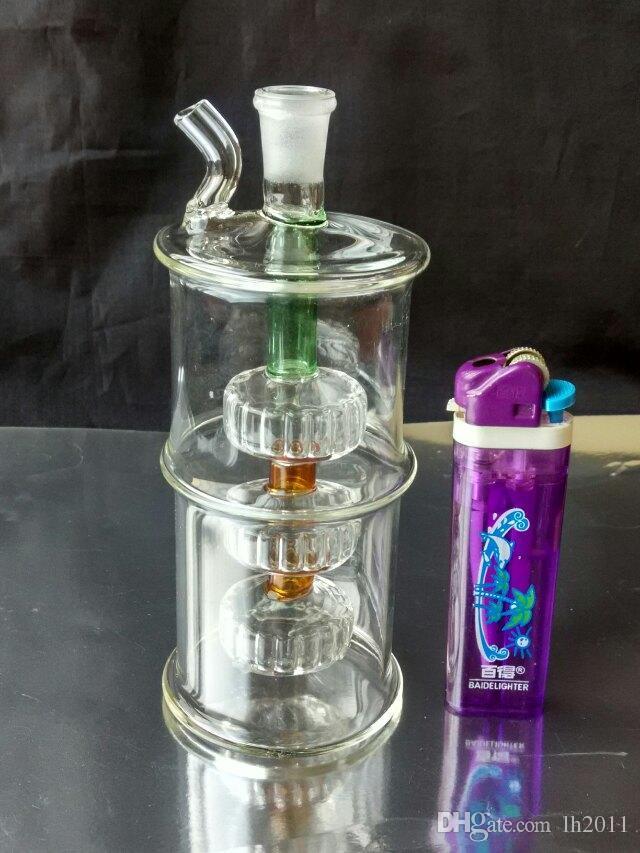Neumático hookah venta al por mayor bongs de vidrio quemador de aceite de vidrio de vidrio tubos de agua plataformas petroleras Fumar