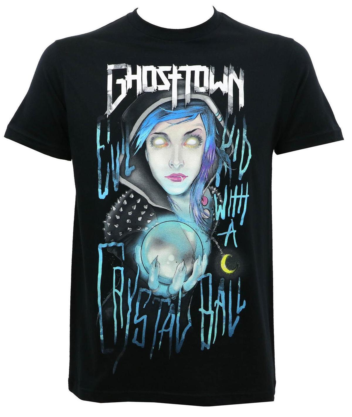 2225f3e3529 GHOST TOWN Band Crystal Ball T-Shirt S M L XL 2XL NEW T-Shirt New ...