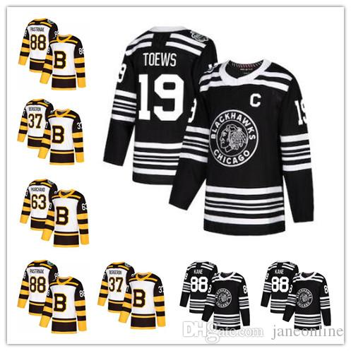 2019 Winter Classic Chicago Blackhawks Boston Bruins Jonathan Toews ... 16decd9b7