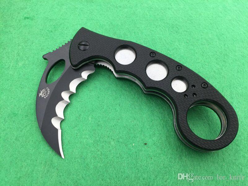 Le super amour requin blanc camping couteau de chasse couteau pliant couteau livraison gratuite