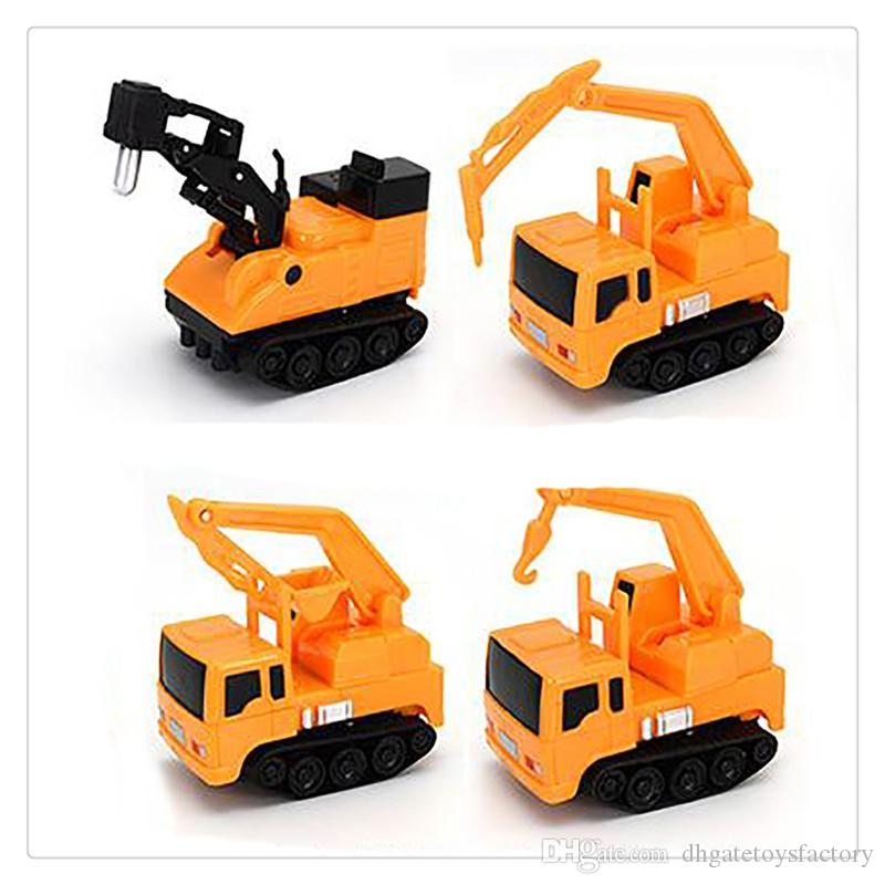 Magic Mini Pen Inductive Toy Car Excavator Model Follow Any Draw lines Toys For Children Gift High Quality Hot Sale