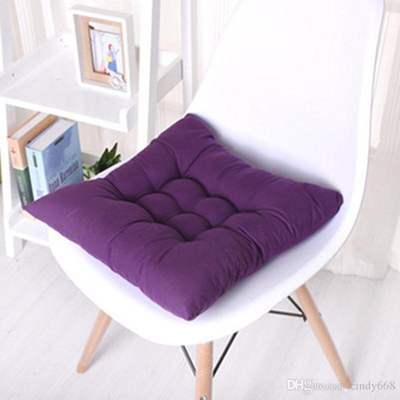 Fashion Square Plaid Chair Cushion Mat Pad Meditation Cushions Mat Pad Seat  Cushions Coussin Decoration For Home Office Sofa Outdoor Chair Cushions ...
