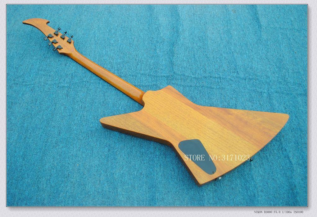 Hohe Qualität braun K Style E-Gitarre aus Holz OEM China Gitarren Top Musikinstrumente