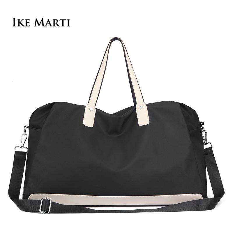 0fde9d6842e6 Top Handle Carry On Gym Bag Waterproof Foldable Weekend Bag Luggage Voyage  Travel Bags Women Sport Hand Luggages For Traveling Laptop Backpack  Messenger ...