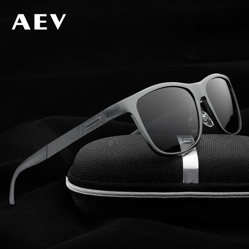 335af23e17 Compre Aev Alta Calidad Hombres Aleación Uv400 Gafas De Sol Polarizadas  Gafas De Sol Hombre Moda Polaroid Lente Sunglass Gafas De Sol Masculino A  $46.61 Del ...