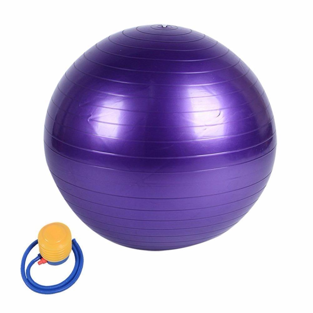 635597868 Compre Bola De Yoga Resistente Explosão 45 Cm 55 Cm 65 Cm 75 Cm Utilidade  Pilates Equilíbrio Esporte Treinamento GINÁSIO De Fitness Shake Exercício  Bolas De ...