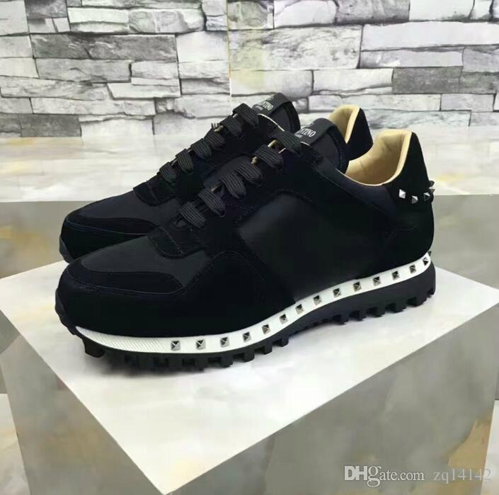 e280be2959c0 Original Box New Original Vogue Luxury Designer Rock Stud Sneaker ...