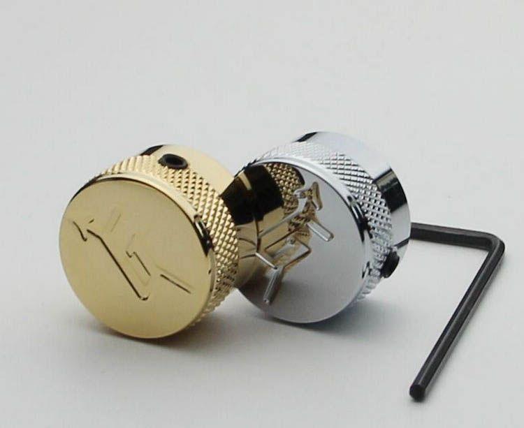 المستوردة منحوتة g الغيتار الكهربائي حجم مقبض الباب ، potentionmeter المعادن غطاء الإلكترونية غطاء مقبض الباب