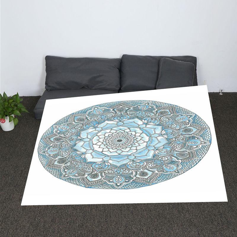 Bohemian Hippie Mandala Women Printed Throw Blanket Round Boho Blanket  Smock Beach Towel Gypsy Down Blanket Throw Black Fuzzy Blanket From  Curteney 284fde913