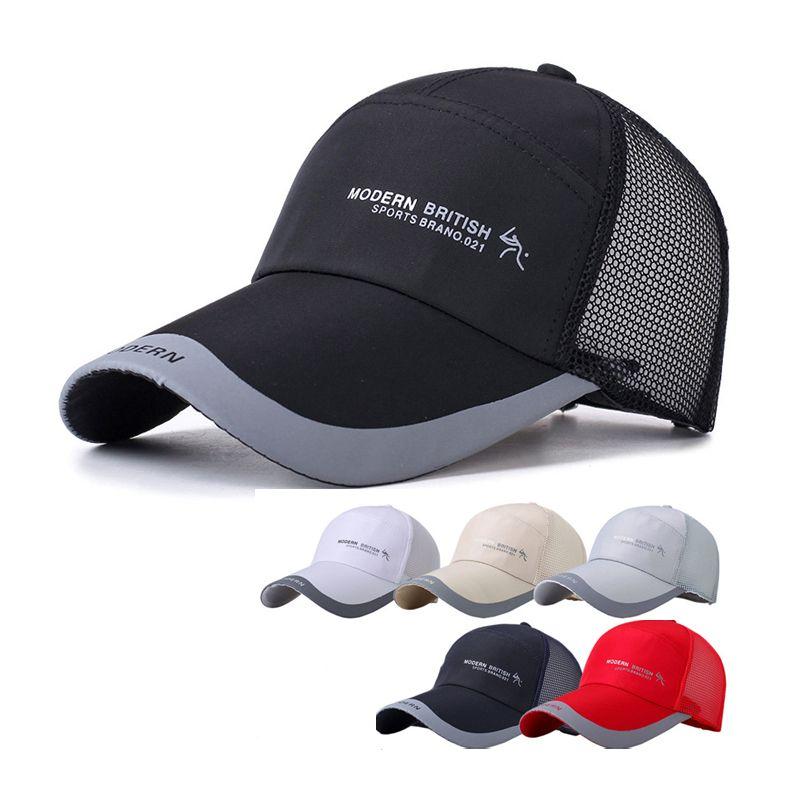 778ae58c3bd SINGYOU Summer Men Outdoor Sunshade Snapback Hat Women Breathable ...