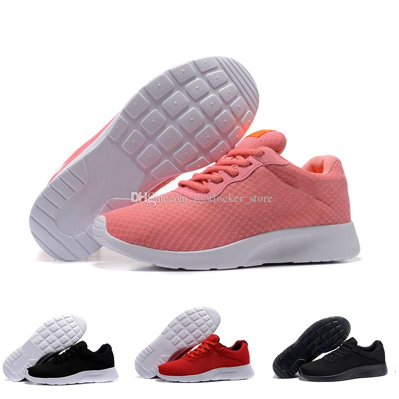 7120aeed8970 2018 Run Tanjun Shoes Black White Red Grey Sneakers Men Women Sports ...