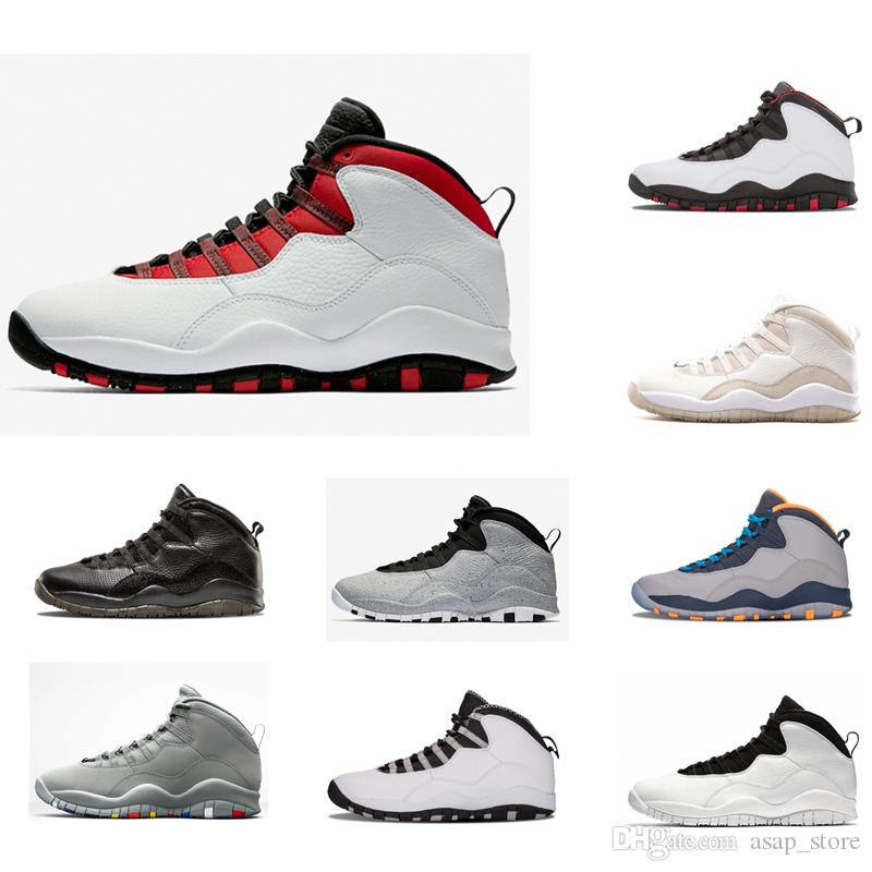 2018 New 10 Oreo Men Basketball Shoes Fashion Black White Man Sneakers Mens  10s Jumpman Basket Ball Sports Shoes Size 41 47 Shoes For Sale Baseball  Shoes ... 9e1668b40557