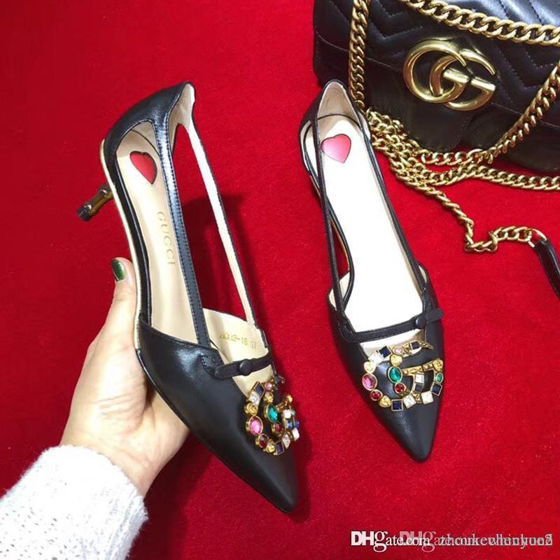 9e13dd65ac Compre 2018 Sexy Mulheres Bombas Abertas Toe Rendas Até Sandálias De Salto  Alto Sandálias Mulher Sandálias Grossas Com Mulheres Sapatos De Salto Alto  X357 ...