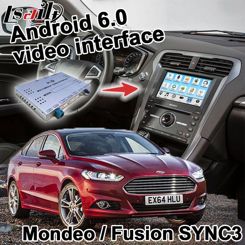Android navigation box for Fusion / Mondeo Edge Focus Fiesta etc SYNC 3  system video interface box Carplay yandex GPS