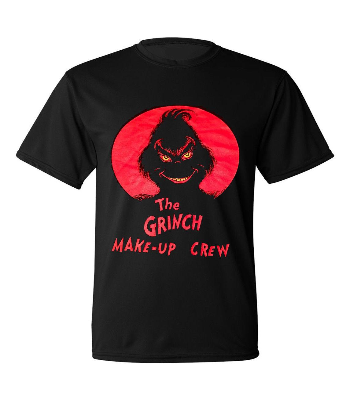 How The Grinch Stole Christmas Dr. Suess Movie Black T Shirt Size 100%  Cotton Casual Printing Short Sleeve Men T Shirt O Neck Cheap T Shirts Long  Sleeve T ... 2460661ec