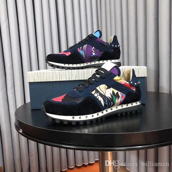 397ccaa5eec7cf Großhandel Günstige 2018 Italien Marke Herren Sneaker Echtem Leder  Turnschuhe