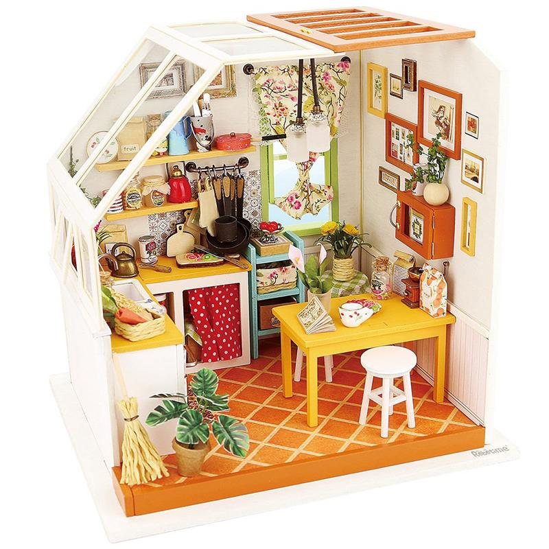 Compre Al Por Mayor Casa De Muñecas Miniatura Casa De Muñecas Diy ...