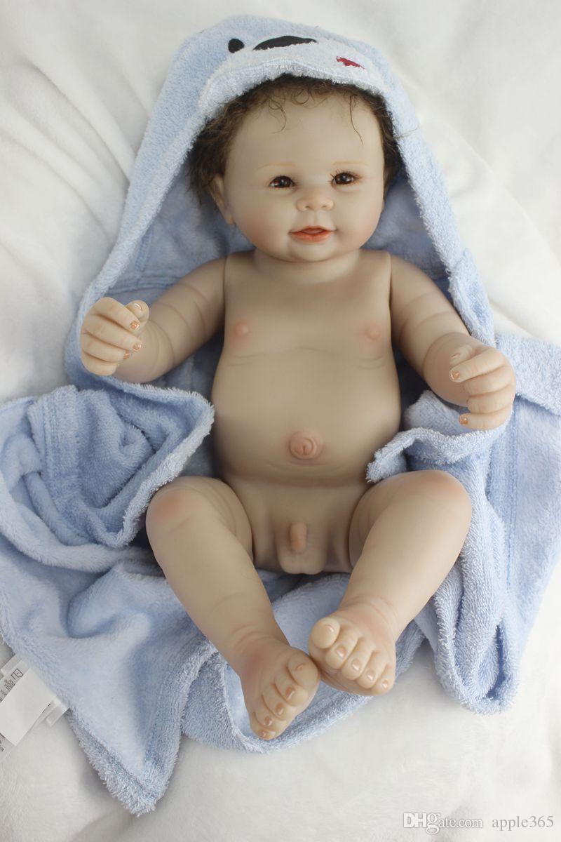 "55cm/22""Acrylic&soft Silicone Simulation LIFE LIKE Reborn Baby Doll Girl/SDK-98R5"