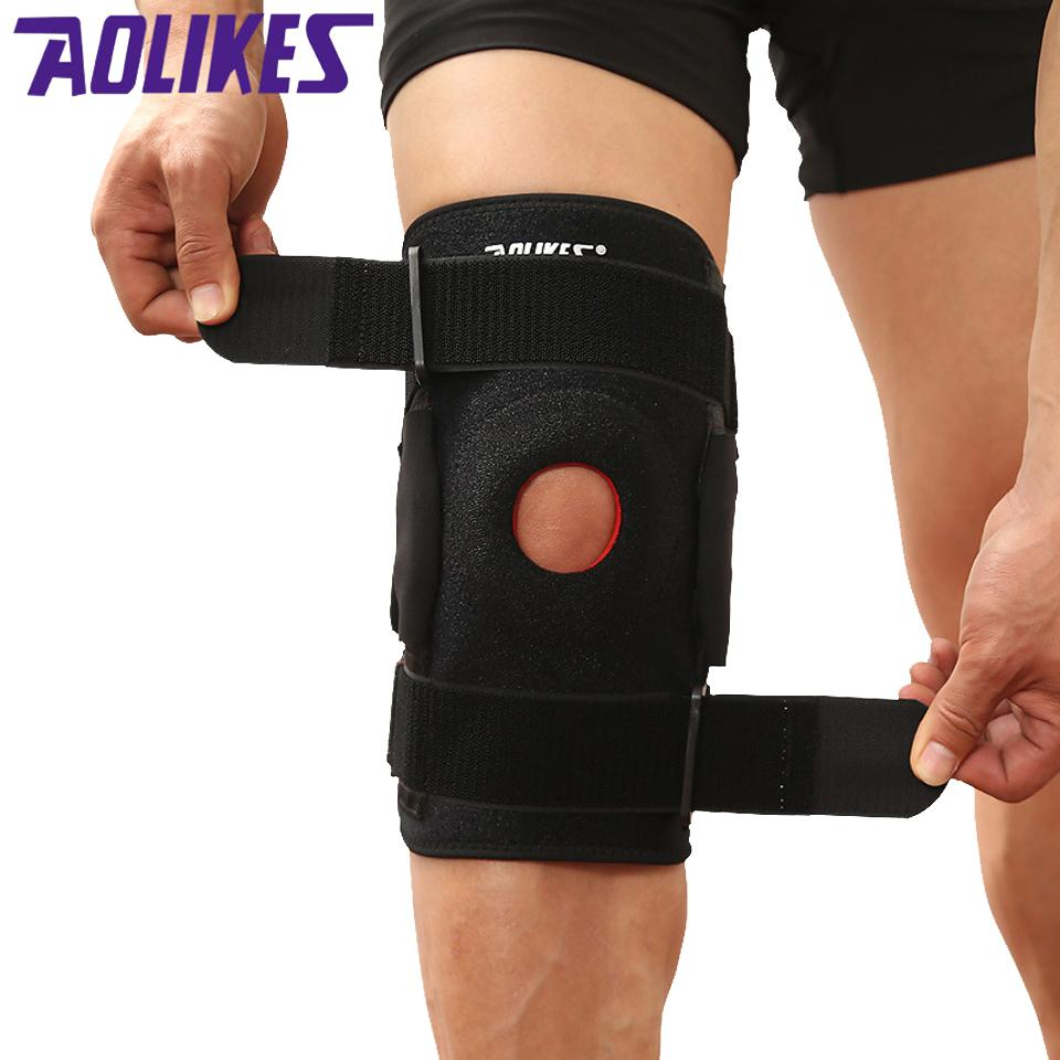 c05bc85771 2019 Aolikes Adjustable Knee Patella Support Brace Sleeve Wrap Cap  Stabilizer Sports Knee Care Portable Knee Protectors Sports Safety From  Soutong, ...