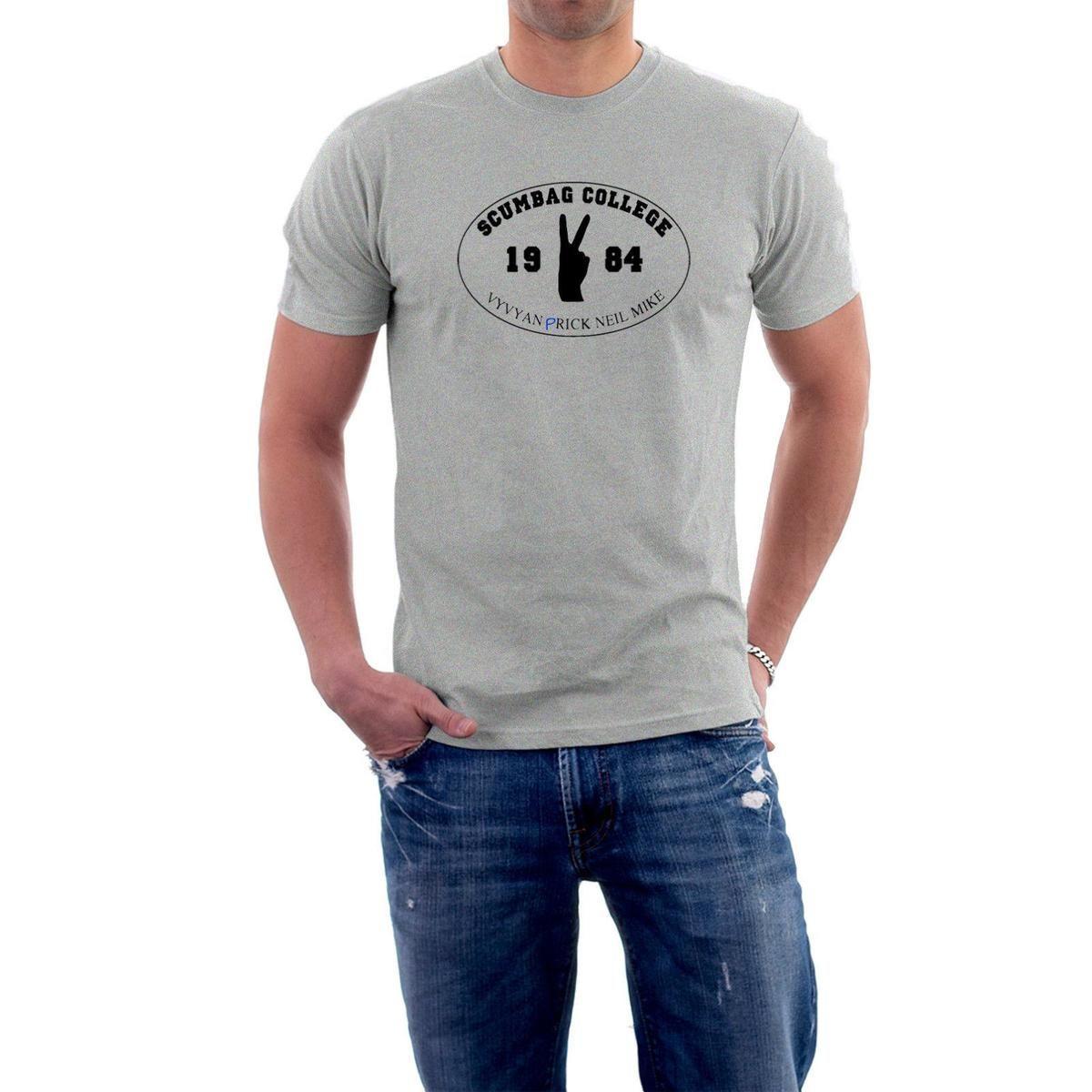 cc4f2de7a63e5 Scumbag College T-shirt. Young Ones Tribute Tee. S- 5XL University Challenge