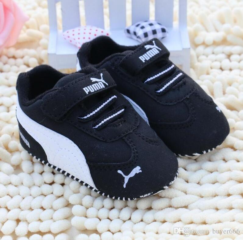 54291692 Newborn Baby Boy girls Shoes First Walkers Spring Autumn Baby Boy Soft Sole  Shoes Infant Canvas Crib Shoes 0-18 Months