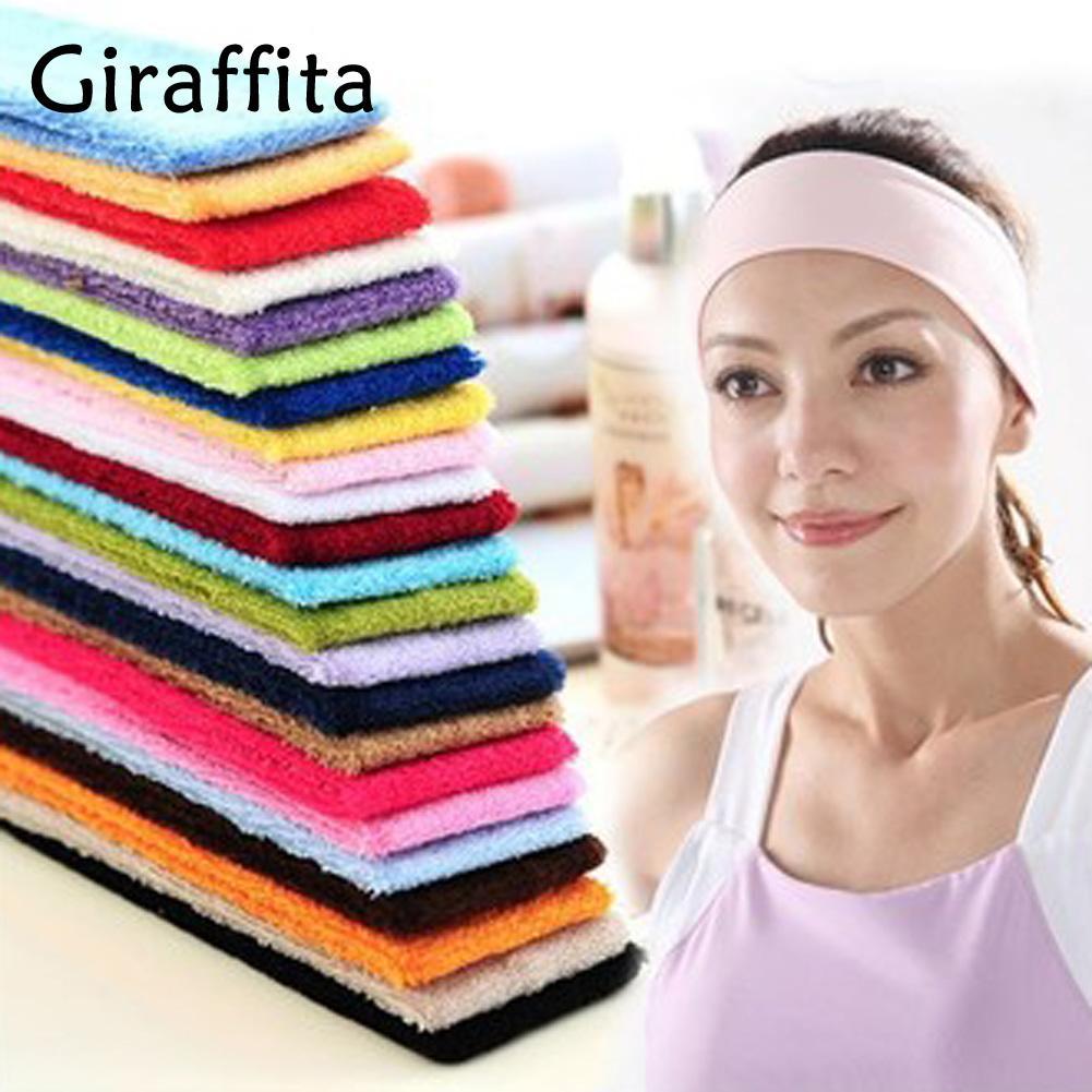 Giraffita Hot Sale Sports Gym Stretch Headband Yoga Head Band Sweat ... fef88cd6bb7