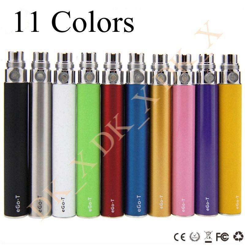 650mah 900mah 1100mah Ego T Battery 510 Thread Electronic Cigarettes