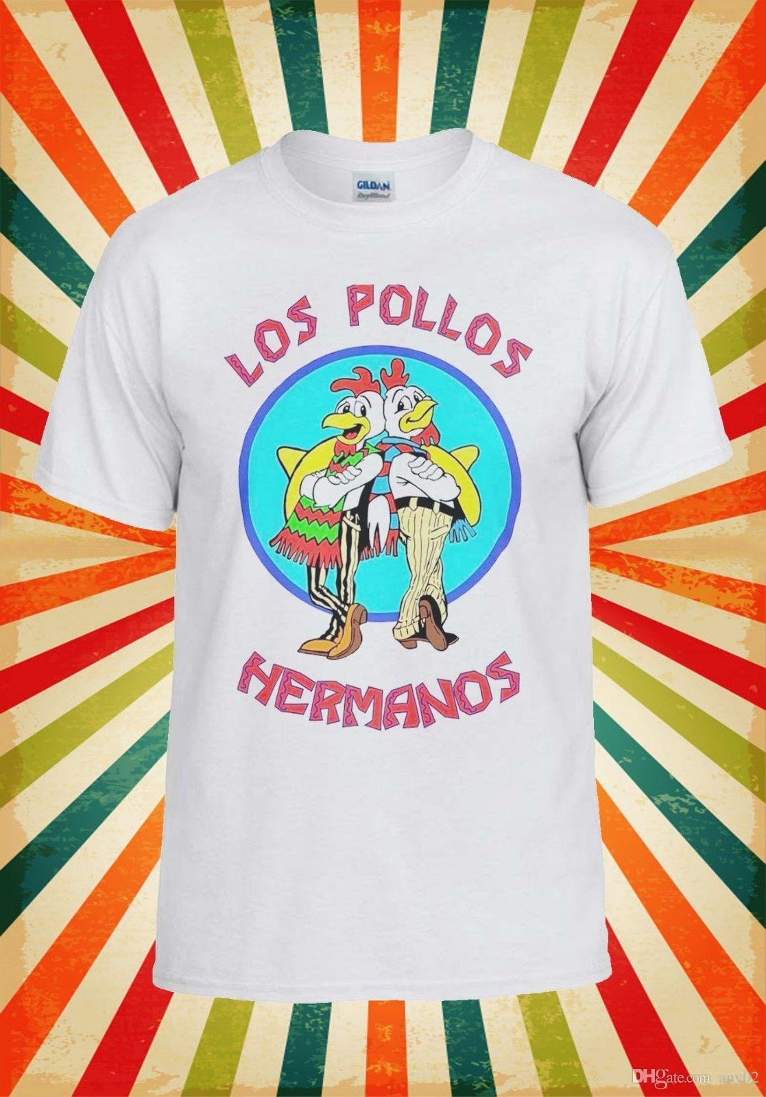 7a3e6a57 Los Pollos Hermanos Breaking Bad Cool Men Women Vest Tank Top Unisex T Shirt  6 T Shirt Shirts Shirts And Tshirts From Any02, $13.19| DHgate.Com