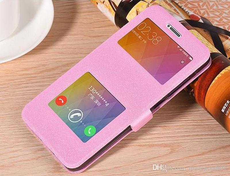 Redmi5 Flip Leather Case for Xiaomi Redmi 5 Phone folio Cover Fundas Caso Cas Bag Mi Redmi5 Cases Coque Magnetic Closed View Window
