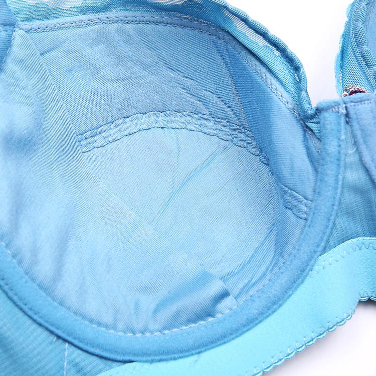 High quality super 46/105G 44F 42E 48F cup gather braplus bra intimate brassiere big plus size large E F G H cup adjustment bra