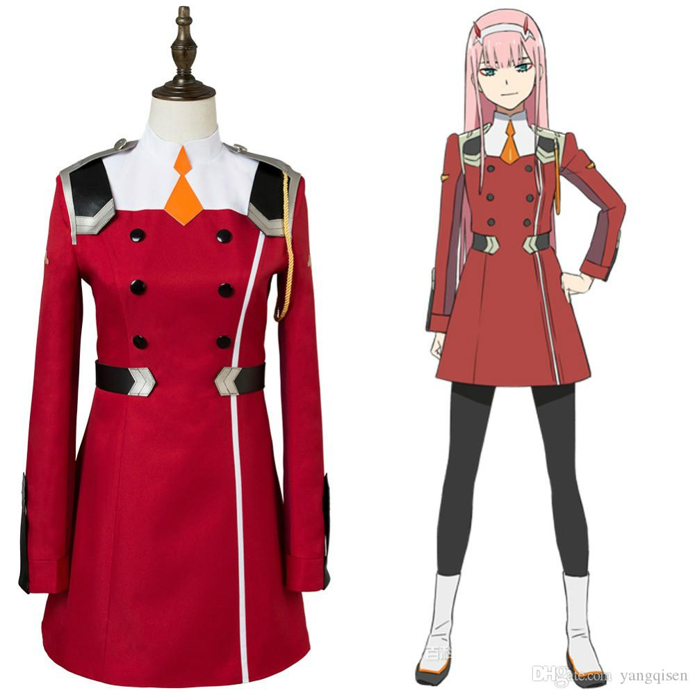 Japanese Anime DARLING In The FRANXX Cosplay Zero Two Cosplay Women Cosplay  Costume Japanese Anime Full Set Best Cosplay Sites Anime Girl Costume From  ... 3ee8eaea1a2c