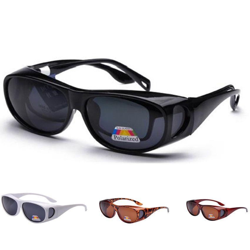 9594cbe381 NUEVAS Gafas Para Deportes Al Aire Libre Cubiertas De Lentes Polarizadas  Gafas De Sol Que Se Ajustan Sobre Las Gafas De Sol Use Sobre Las Gafas  Graduadas ...