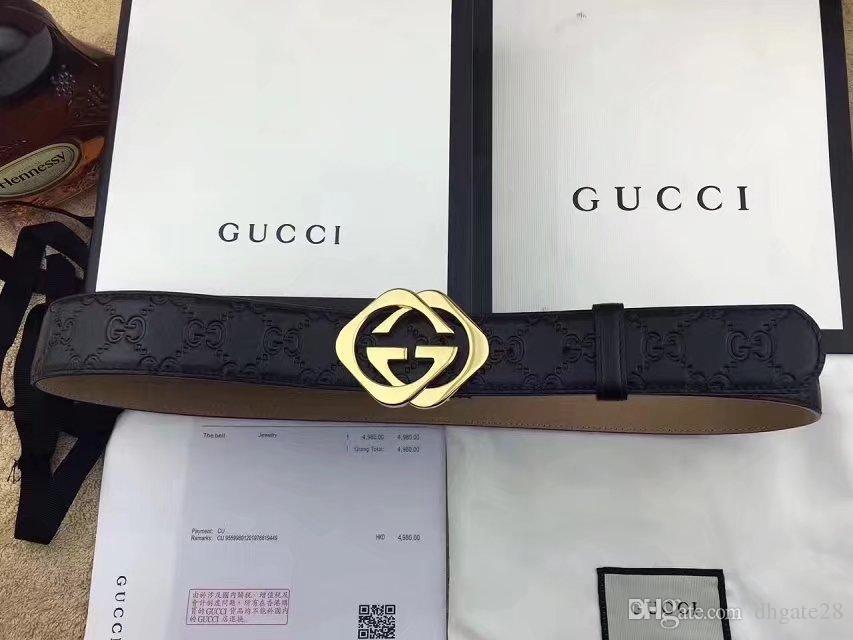 a40806bbb3 Compre Novos Homens Designer De Cintos De Marca De Luxo Cintos  Personalidade Moda Casual Business Belt Alta Qualidade Importado Real Cinto  De Couro Para O ...